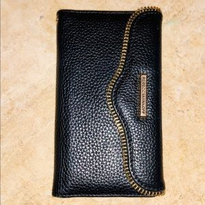 Rebecca Minkoff pebbled leather iPhone case